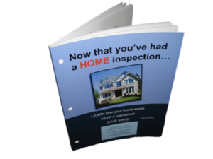 """Cover of book """"Now that you've had a HOME inspection..."""""""