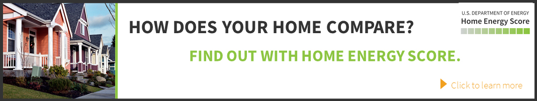 Home Energy Score Banner