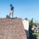 Inspection asphalt shingle roof